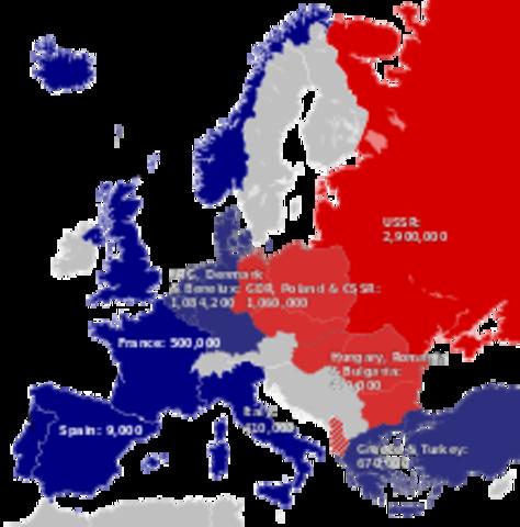 Cold War timeline | Timetoast timelines