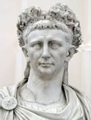 Claudius was born in the Lugdunum.