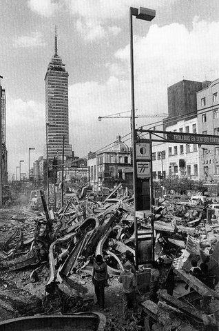 Terremoto sacude a la ciudad de México.