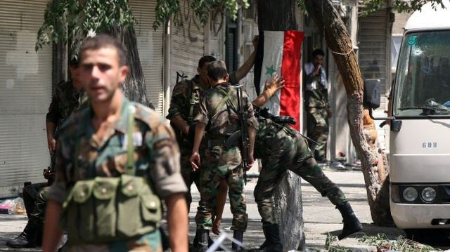 Syrian soldiers shot for not following orders