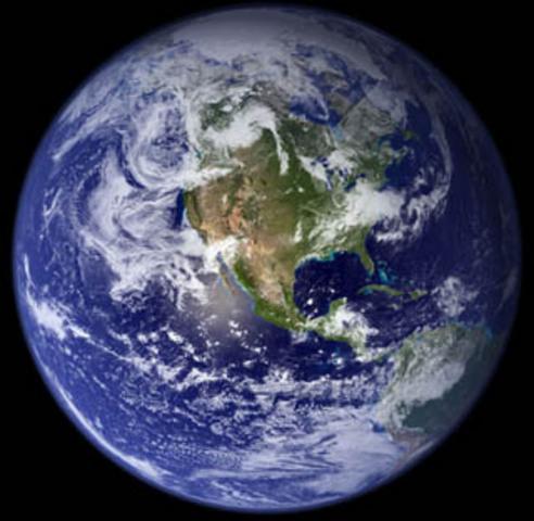 Circling the earth