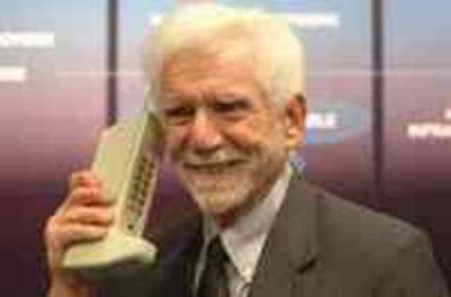 The First Cell Phone!
