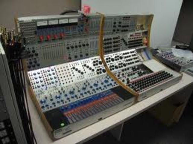 Buchla Synthesizer