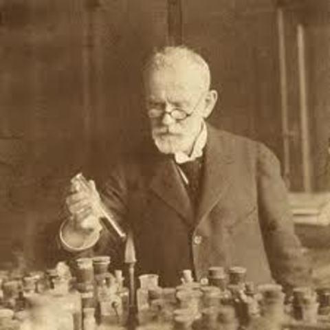 Ehrlich (1854 - 1915)
