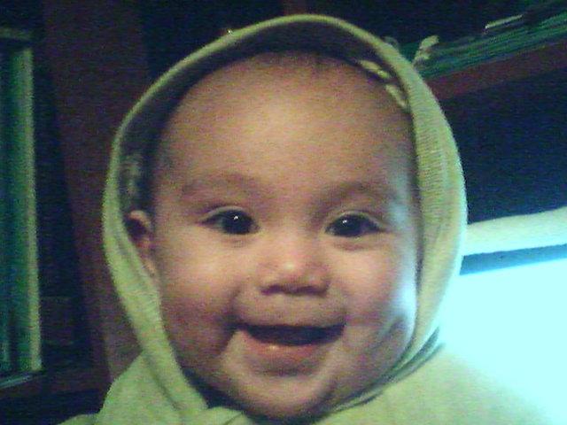 los 4 mesesitos de mi princesa LAURA SOFIA