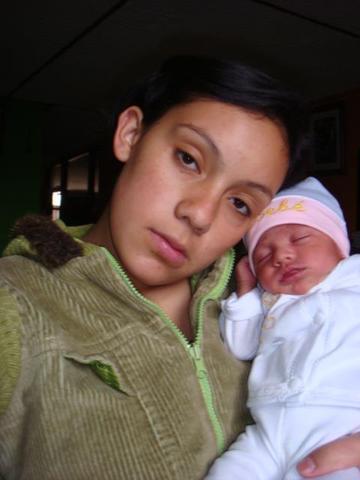 el nacimiento de mi bebe BAYOLETH TATIAN