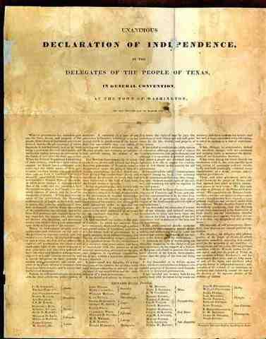 Declaration of 1835