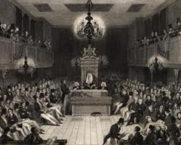 The British House of Commons