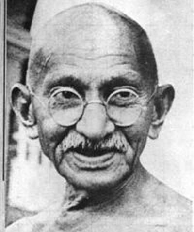 Death of Gandhi