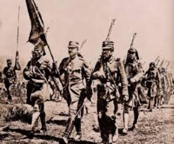Greeks invade Turkey