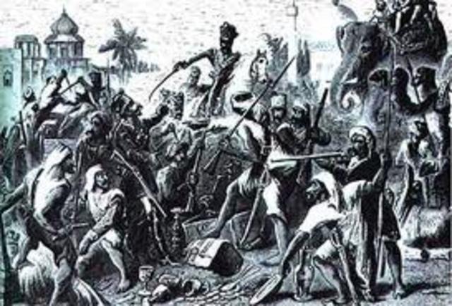 Indian Rebellions begin