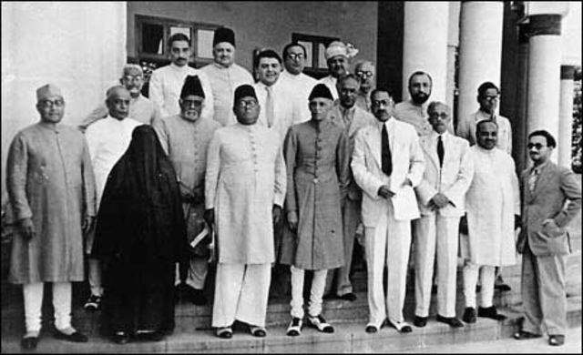 The Muslim league was founded. Part of a nationalist group.