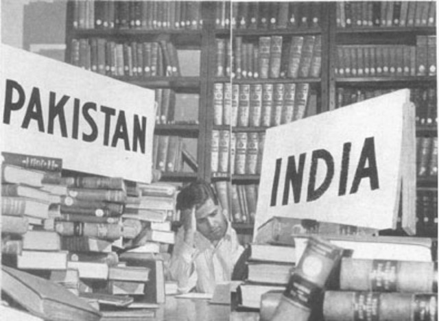 The British House of Commons passed an act that granted two nations, India and Pakistan