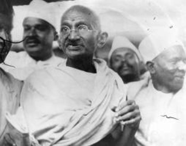 A Hindu extremist who thought Gandhi too protective of Muslims shot and killed him