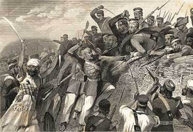 Indian First Rebellion