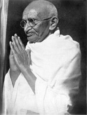 Gandhi feasts