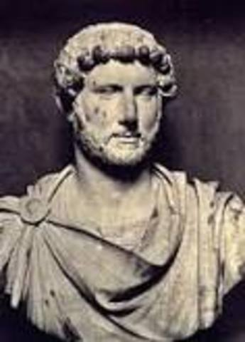 Hadrian died at age 62