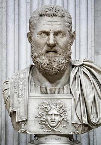 Pertinax is named the governor of Britannia