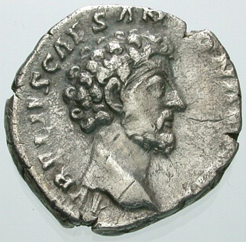 176 was a very sucessful year for Marcus Aurelius. He was so wealthy he gave eight pieces of gold to every citizen.