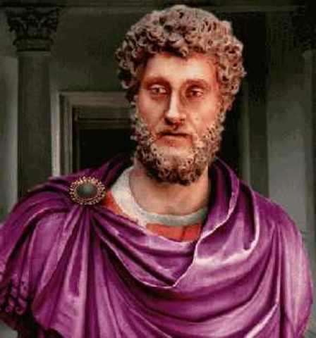Commodous reigned after Marcus Aurelius' death in 180.