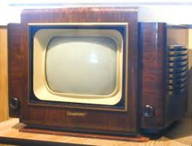 PRIMERA DEMOSTRACION DE TV