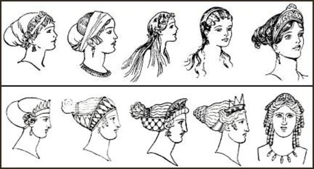 The History Of Hairstyles! Timeline