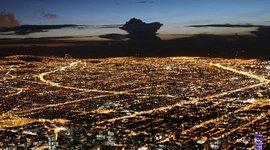 Principales construcciones civiles de Bogota. timeline