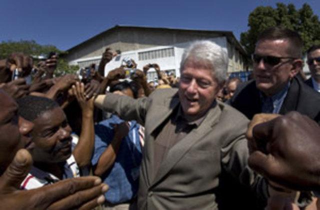Bill Clinton named UN special envoy to Haiti