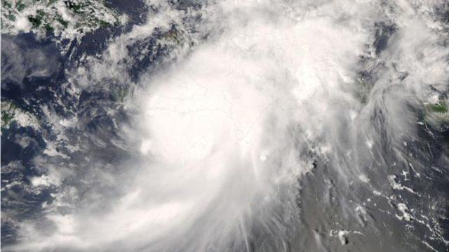 Hurricane Gustav hits Haiti