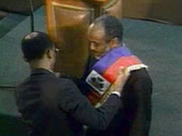 René Préval wins election