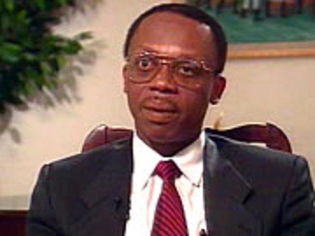 Aristide inaugurated president