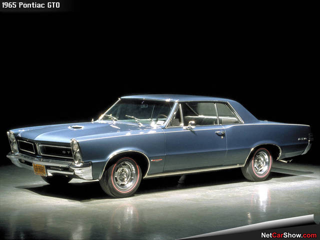 the begaining of the muscle car era and the most famous muscle car in 1965