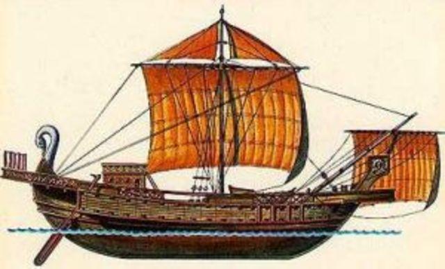 Roman Cargo ship