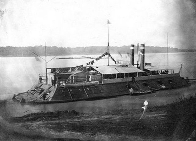 Ironclad Steam ship