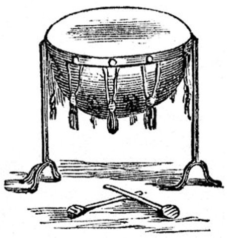 Introduction of the Kettledrum and Trumpet.