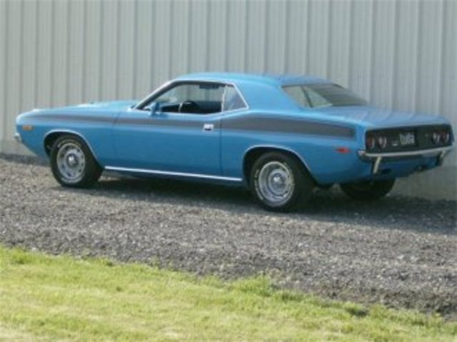 end of muscle car era 1973 Barracuda