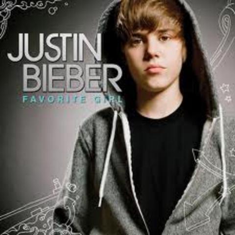 "Justin relases his ""favorite girl single"""