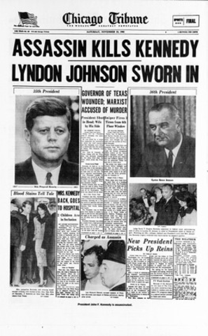 JFK gets assassinated