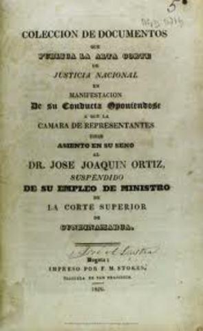 """Bolivar remplaza la """"Alta Cámara de Justicia"""""""