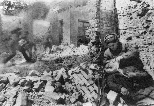 Germany Surrenders at Stalingrad