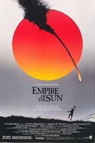 first movie: Empire of the sun