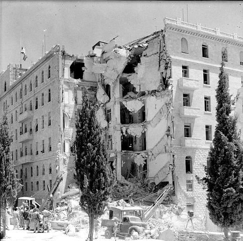 Attack on King David Hotel