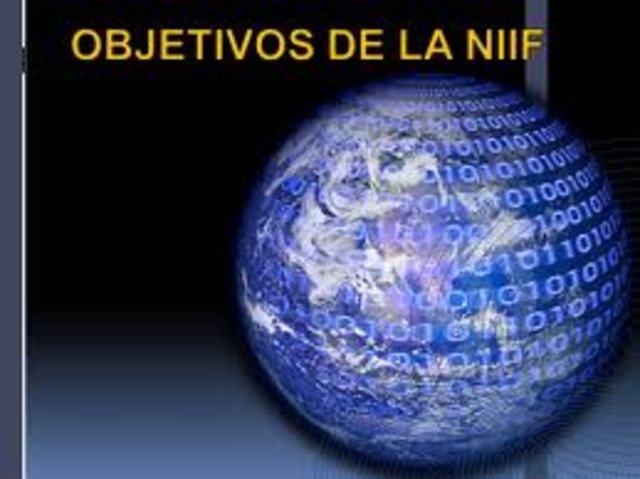 Creación de la pagina Web de información general de las Niif.