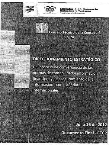 Documento final de plan de direccionamiento del CTCP.