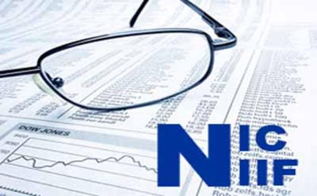 El primer Estados Financieros regido bajo las normas de las Niif.