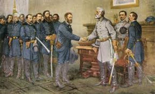 Gerneral Robert. E. Lee Surrenders
