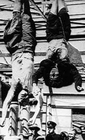 Mussolini ejetucado