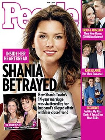 Shania's Marriage Ends
