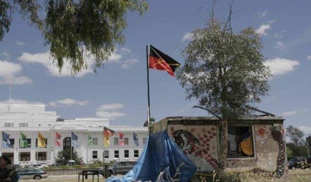 Tent Embassy Established