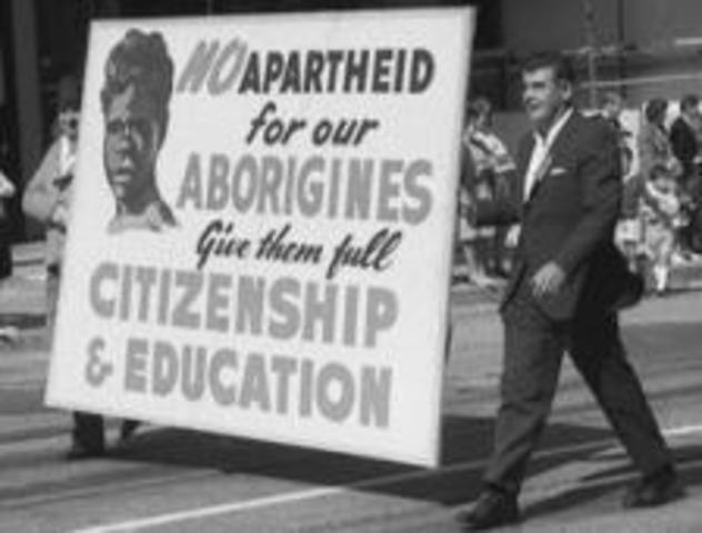 Aboriginal People given the right to vote - 1967 Referendum